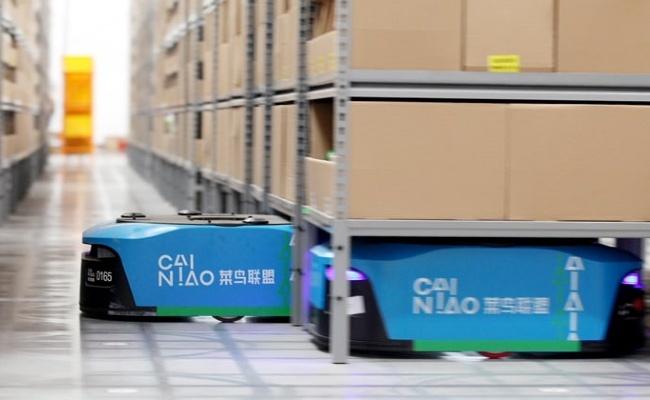 alibaba smart logistics thuong mai dien tu
