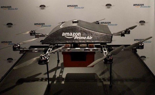 amazone drone prime air thuong mai dien tu